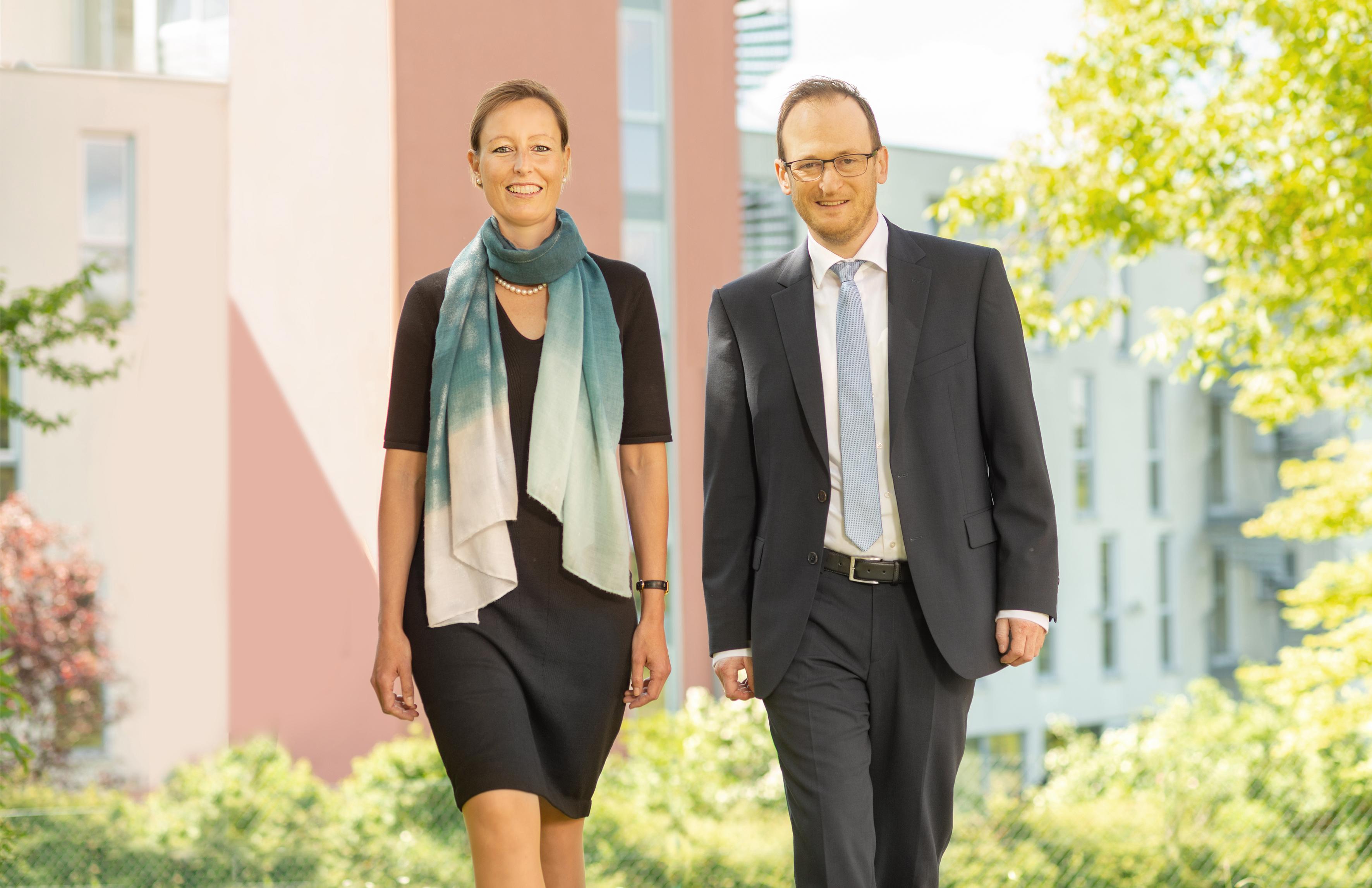 Michael Pfab und Eva von Vietinghoff-Scheel engagieren sich in der Landespflegesatzkommission