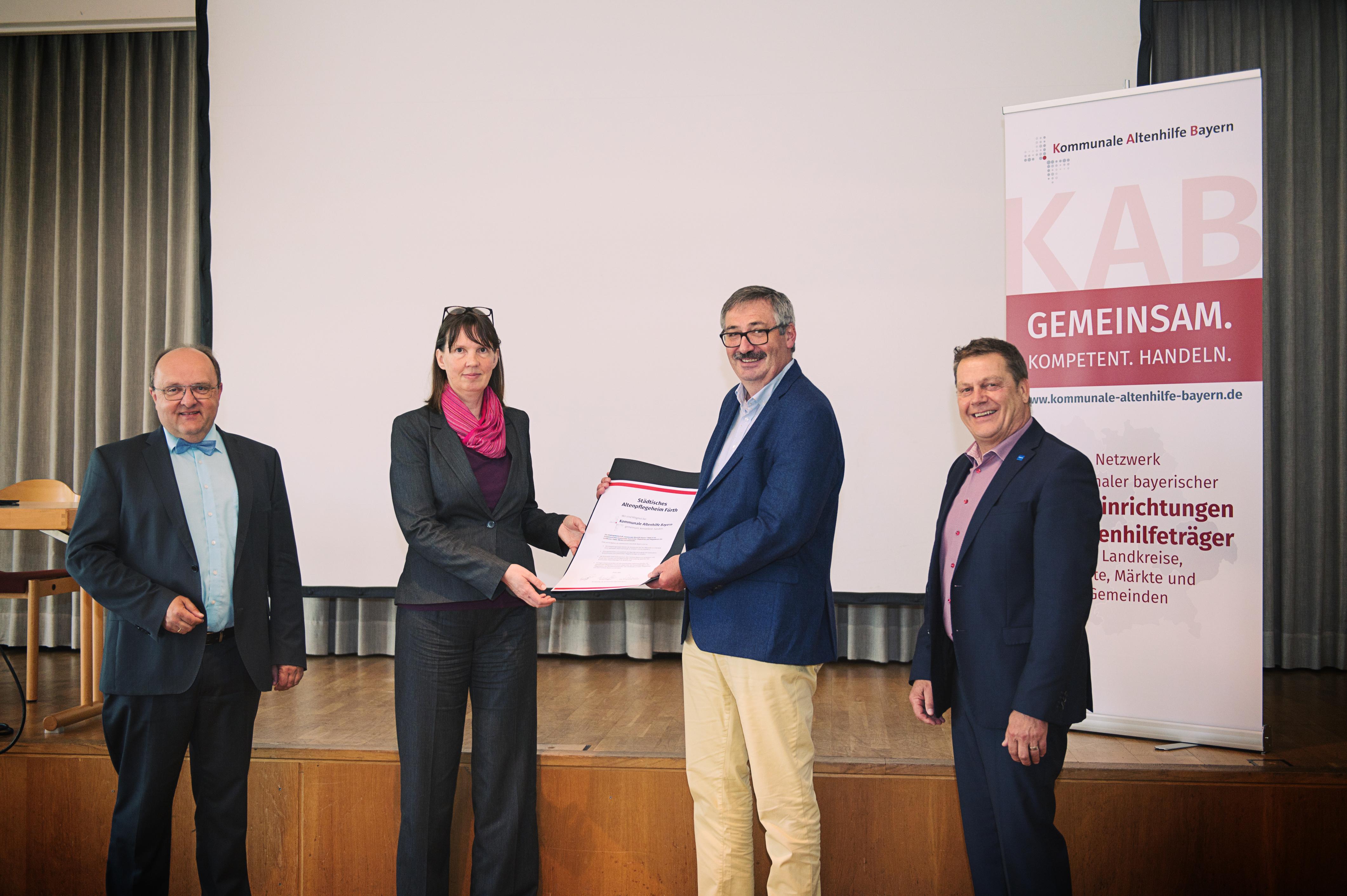 Neues Mitglied: Städtisches Altenpflegeheim Fürth