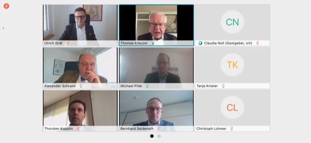Videokonferenz mit der CSU Fraktion